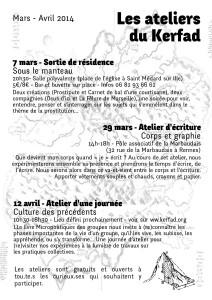 Bulletin Kerfad #2 recto